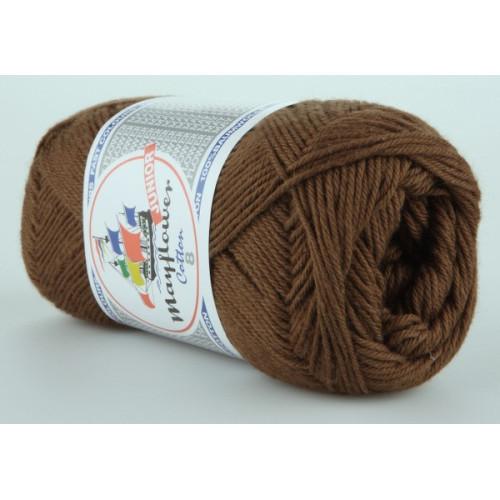 Mayflower Cotton 8 farve 1437 brun
