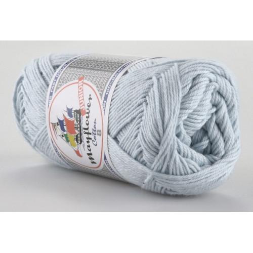 Mayflower Cotton 8 farve 1434 lyseblå