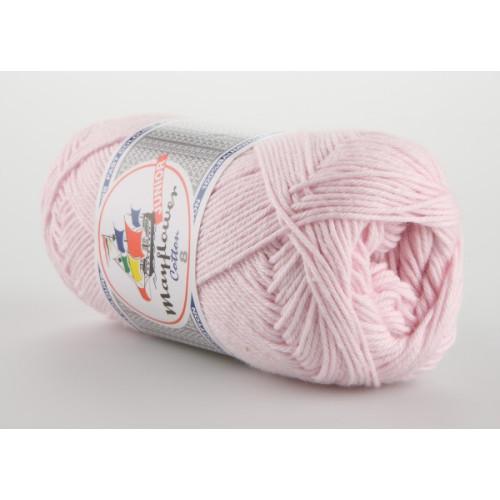 Mayflower Cotton 8 farve 1488 sart lyserød
