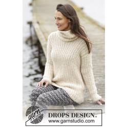 Winter Greeting by DROPS Design S-XXXL DROPS CLOUD