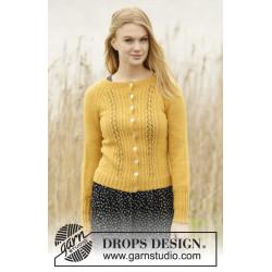 Sweet As Honey by DROPS Design S-XXXL DROPS ALPACA