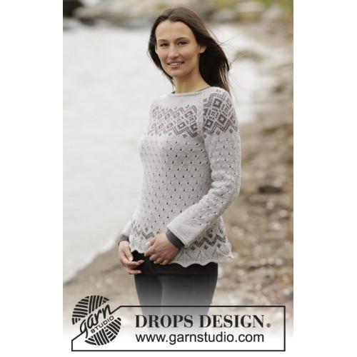 Winter Melody by DROPS Design S-XXXL DROPS LIMA