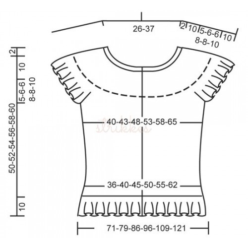 White Romance Cardigan by DROPS Design S-XXXL DROPS SAFRAN