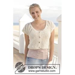 Sofie Cardigan by DROPS Design S-XXXL DROPS ALPACA BOUCLÉ