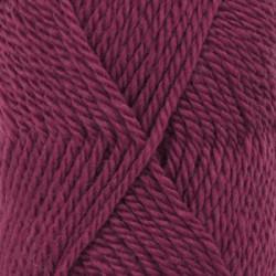 Drops Alaska UNI farve 53 mørk rosa meleret
