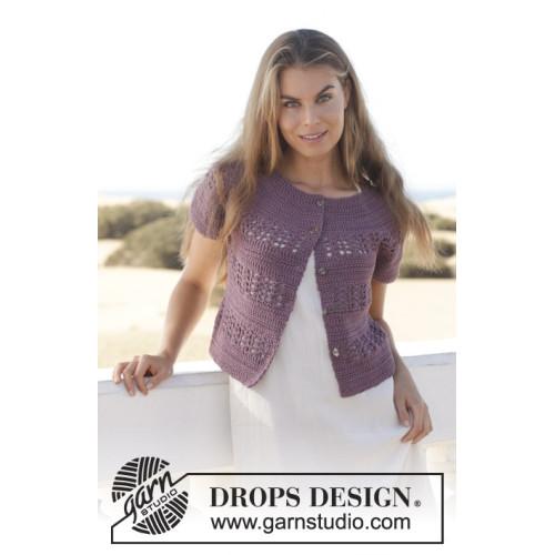 Darling Please by DROPS Design S-XXXL DROPS MUSKAT