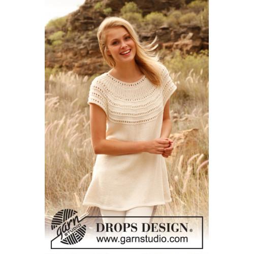 Kristin by DROPS Design S-XXXL DROPS COTTON LIGHT