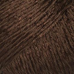 Drops Cotton Viscose UNI farve 23 mørkebrun