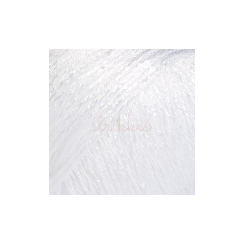 Drops Cotton Viscose UNI farve 01 hvid