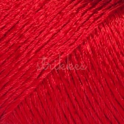 Drops Cotton Viscose UNI farve 05 rød