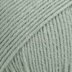 Drops Cotton Merino UNI farve 29 søgrøn