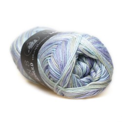 Mayflower Cotton 8/4 print farve 1503 frost